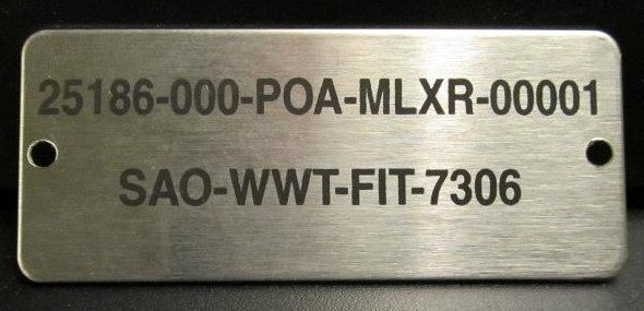 Aluminum Engraved Plates For Stylish Amp Permanent Display
