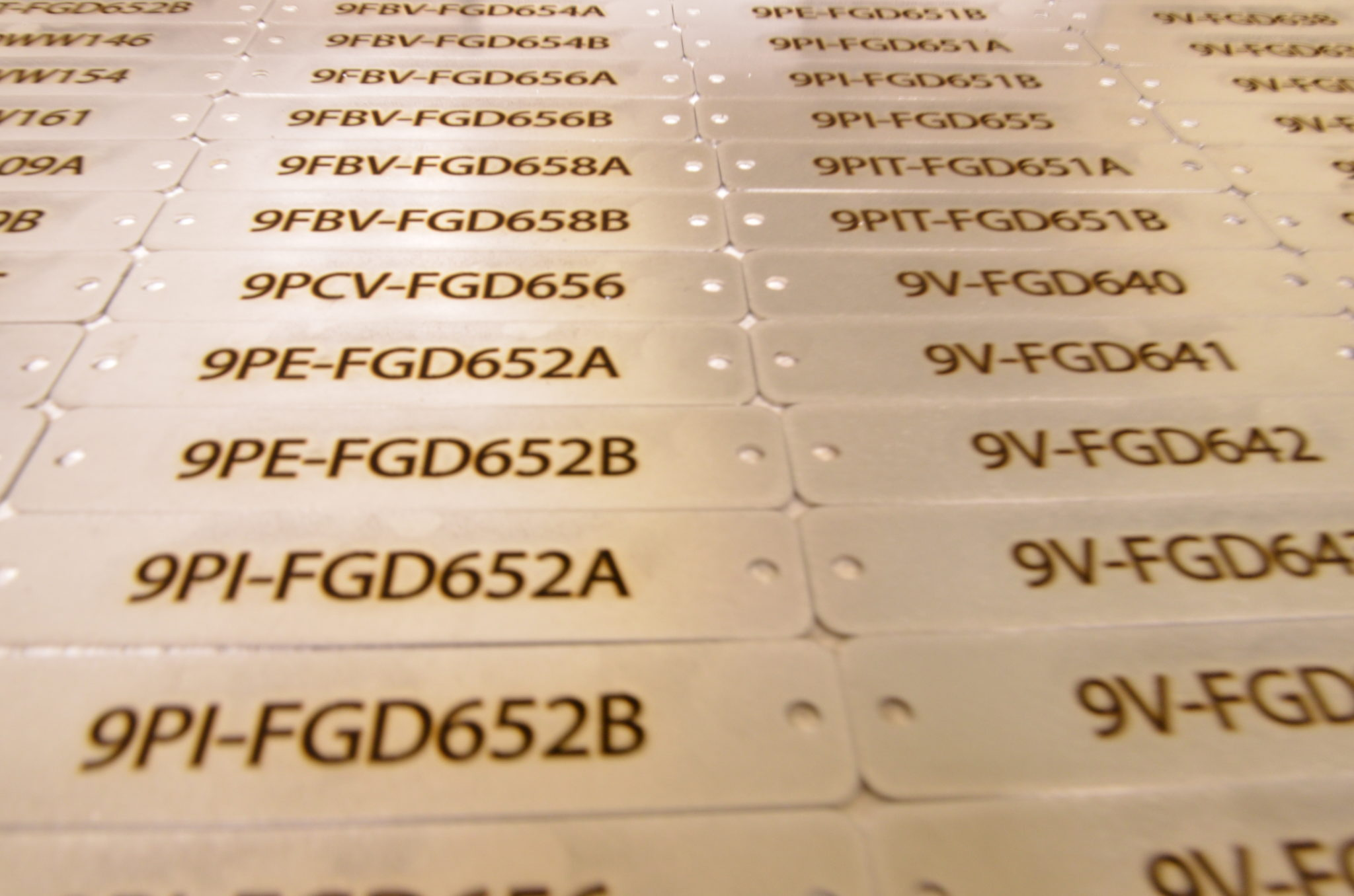 Custom Metal Tags: Simply the Best Way to Track, Identify and Inventory!